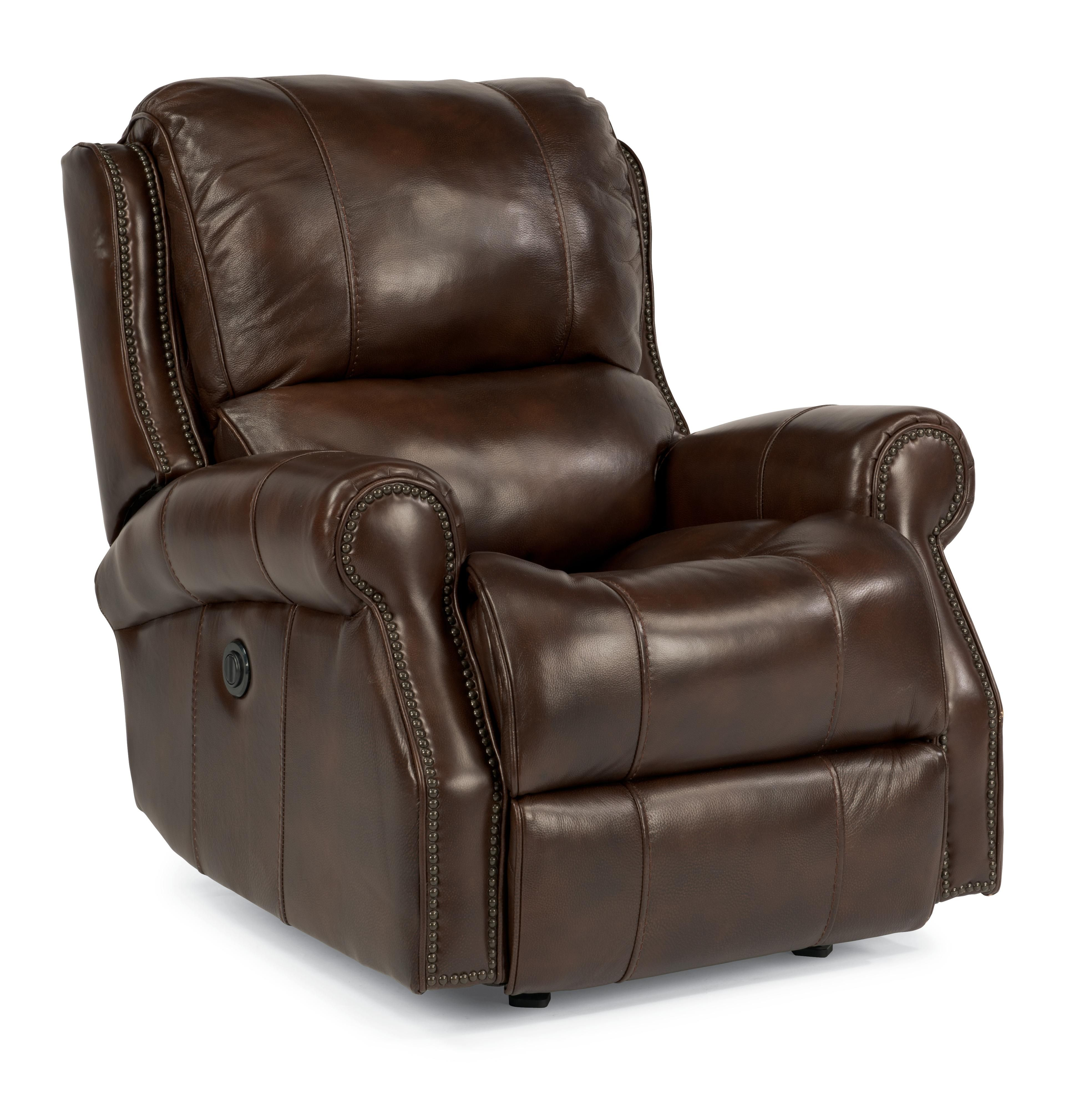 Latitudes Miles Traditional Power Glider Recliner With