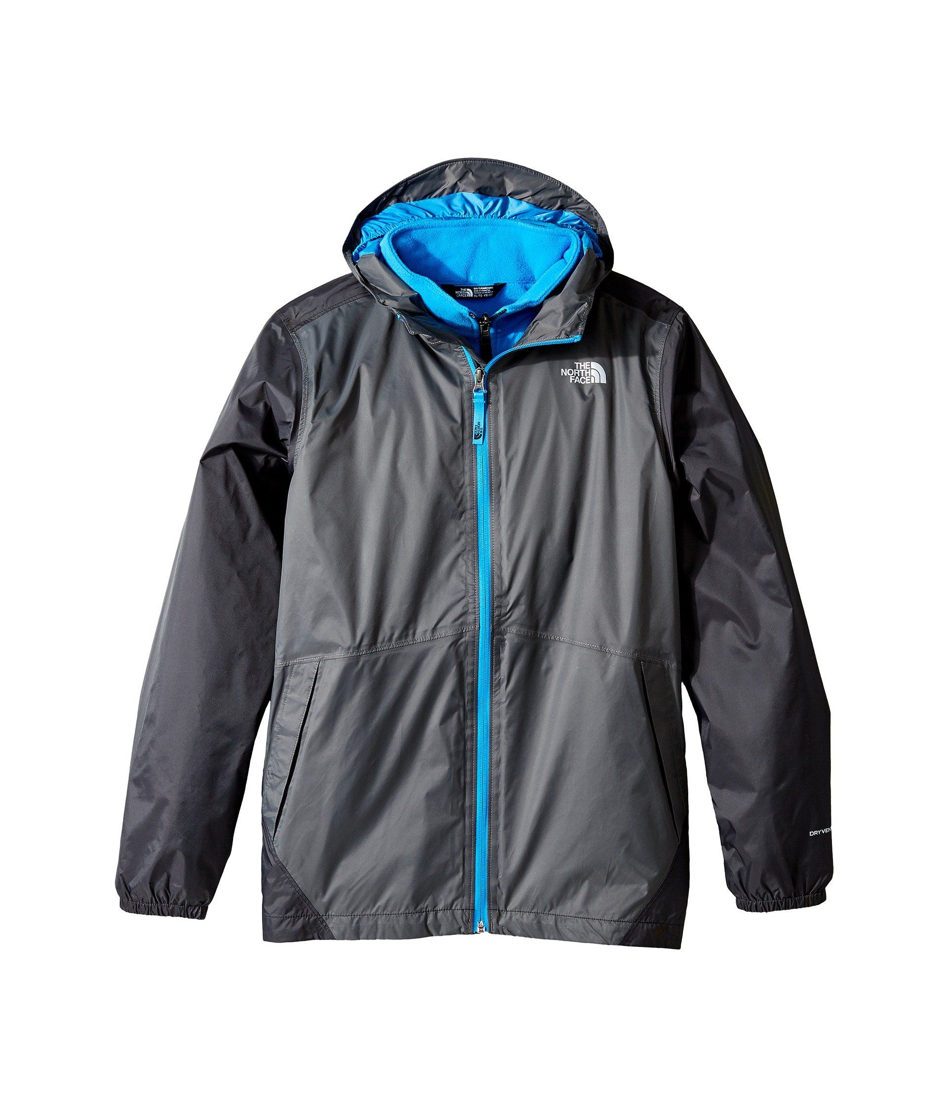 a28f017f0 The North Face Big Boys' Stormy Rain Triclimate Jacket - graphite ...