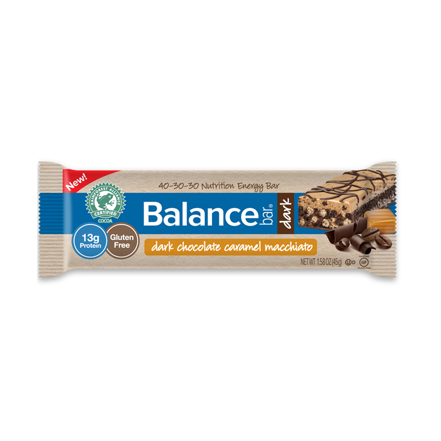 Gluten Free Dark Chocolate Caramel Macchiato Nutrition Bar ...