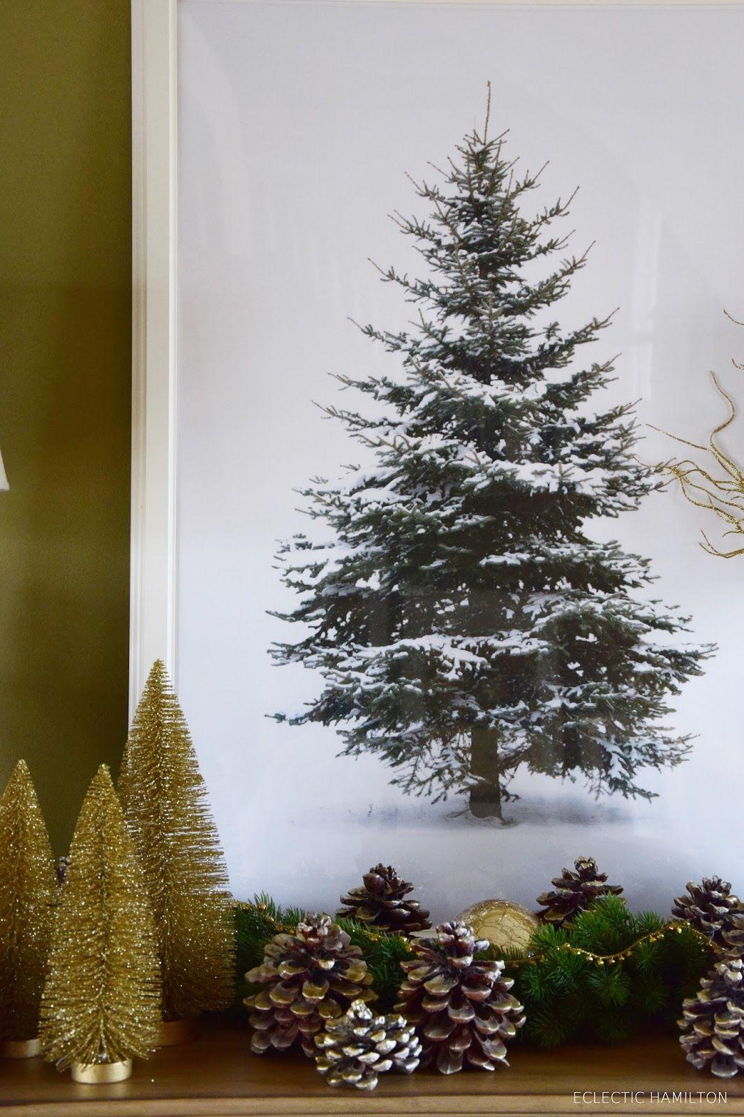 Golden christmas glanz f rs sideboard ein goldenes diy for Weihnachtsideen dekoration