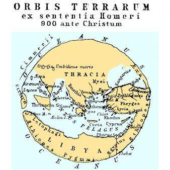 Ancient greek geography maps map 900bc homer terrarum map 900bc homer publicscrutiny Images