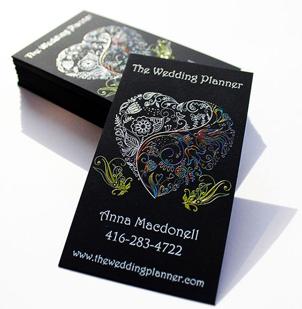 Amazing artistic wedding planner business cards created by iprint amazing artistic wedding planner business cards created by iprint express from toronto canada for anna wajeb Image collections