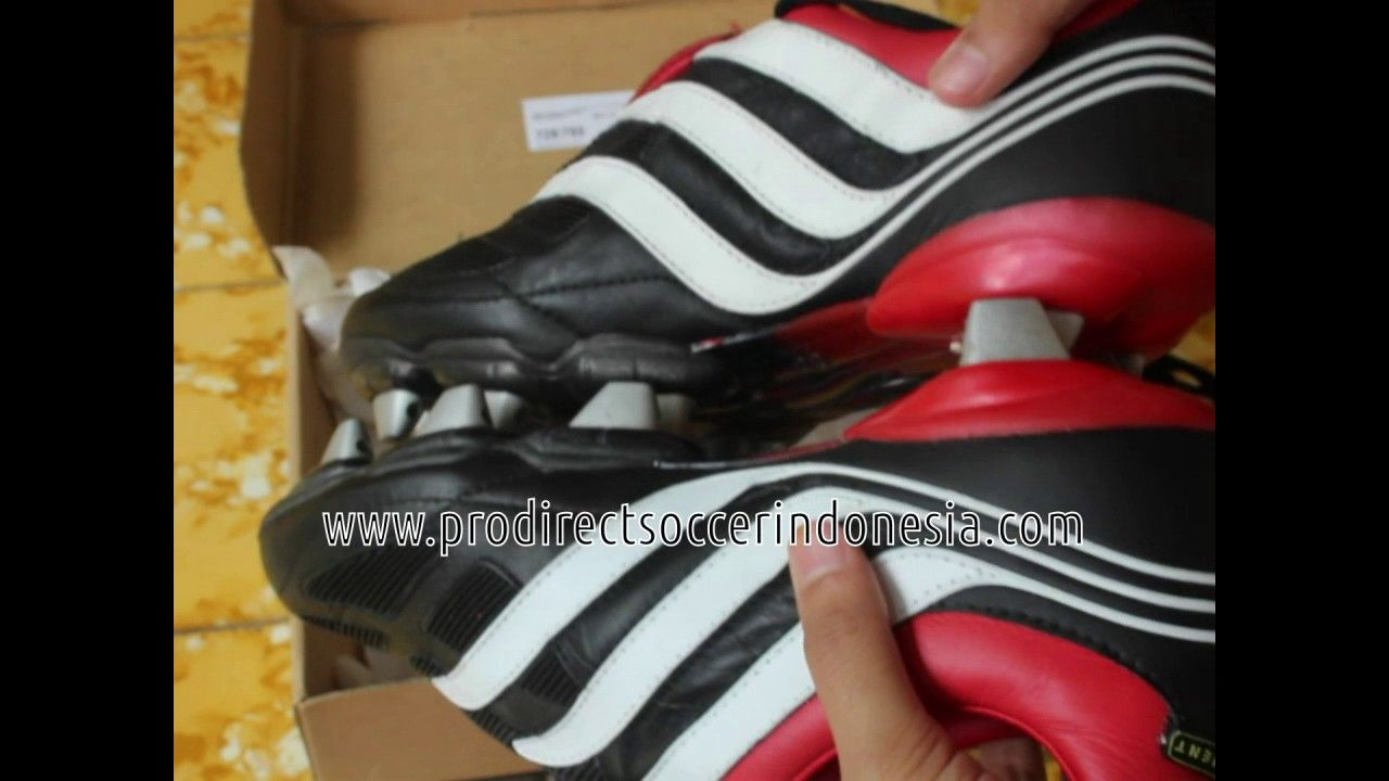 Sepatu Bola Adidas Precision Xtrx Sg Black White Red 664483