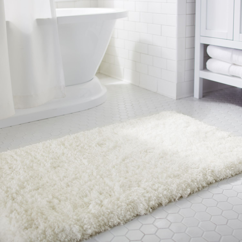 Cloud Step Memory Foam Ivory 24x60 Bath Rug Products Pinterest