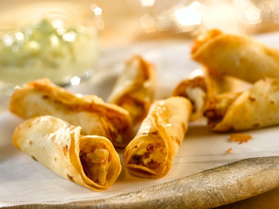 Chicken, bacon and cream cheese taquitos | Recipes | Pinterest