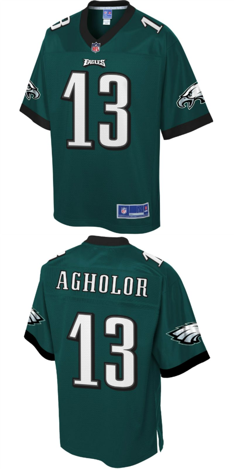 save off 03d83 8fac3 UP TO 70% OFF. Nelson Agholor Philadelphia Eagles NFL Pro ...