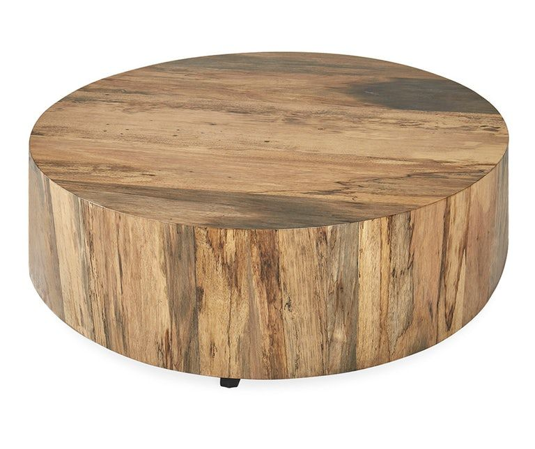 Hudson Coffee Table Joybird Coffee Table Round Wood Coffee