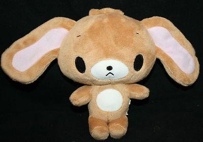 "Sanrio Sugarbunnies Plush Kurousa Brown Bunny Rabbit Small 6"" Soft Stuffed Doll"