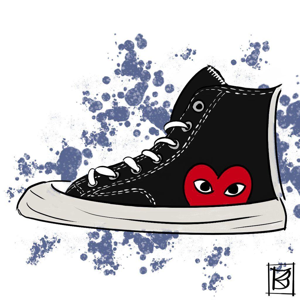 9b9d8d74b0874 Converse x Comme des Garçons #sneakers #converse #commedesgarcons ...