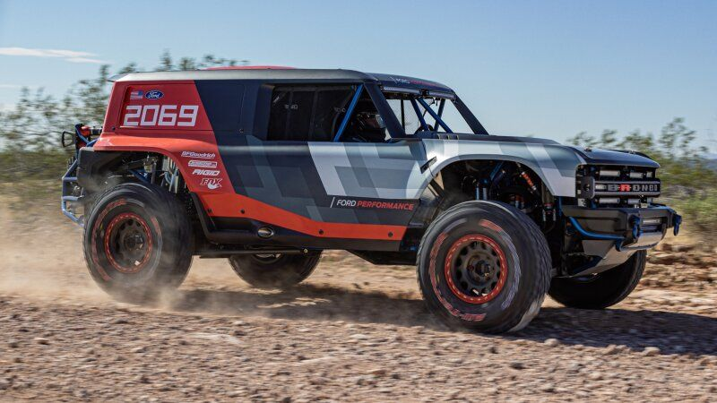Ford Performance Builds Bronco R Race Prototype For Baja 1000