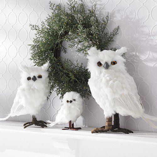Wonderful White Owl Christmas Ornaments - Wonderful White Owl Christmas Tree Ornaments Christmas Inspiration