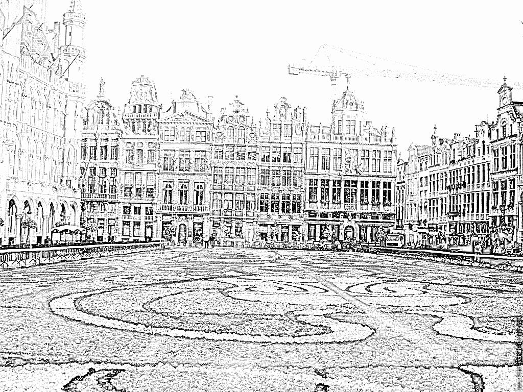 Imprimer Coloriage Fete Des Fleurs Grand Place   Coloriage, Grand ...