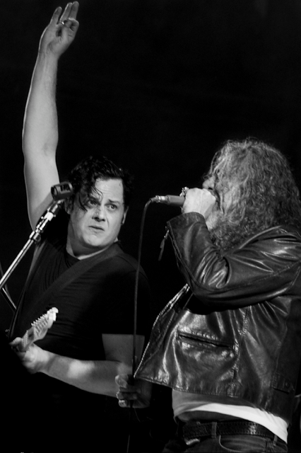 Jack White and Robert Plant