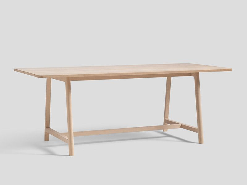 Hay Frame Table Soaped Beech in 2020 Dining table, Table