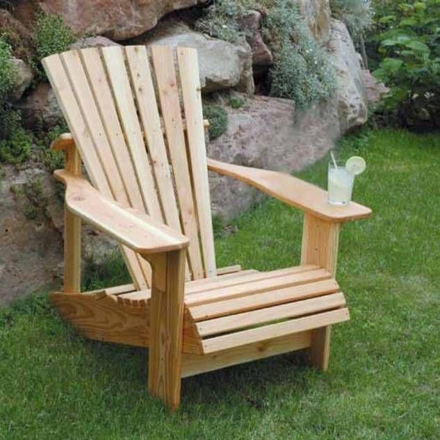 bauanleitung adirondack chair als gartenstuhl mit bauplan. selber, Gartenarbeit ideen