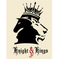Logo of Knight & Kings. The juxtaposition of the chess ...