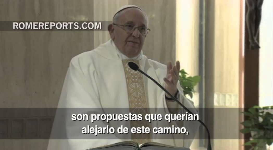Francisco: Tenemos que limpiar nuestro corazón para permanecer en el Señor