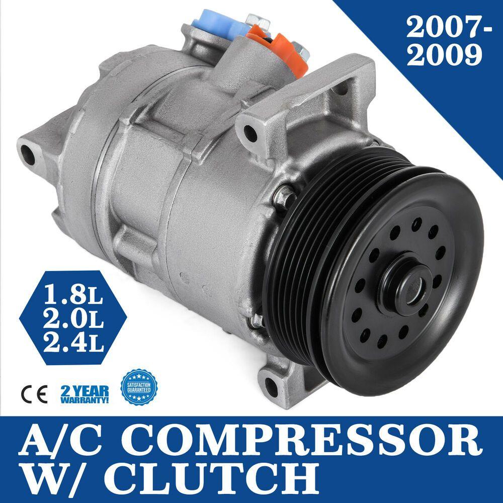 Sponsored Ebay Set A C Compressor W Clutch For 5058228ae Caliber