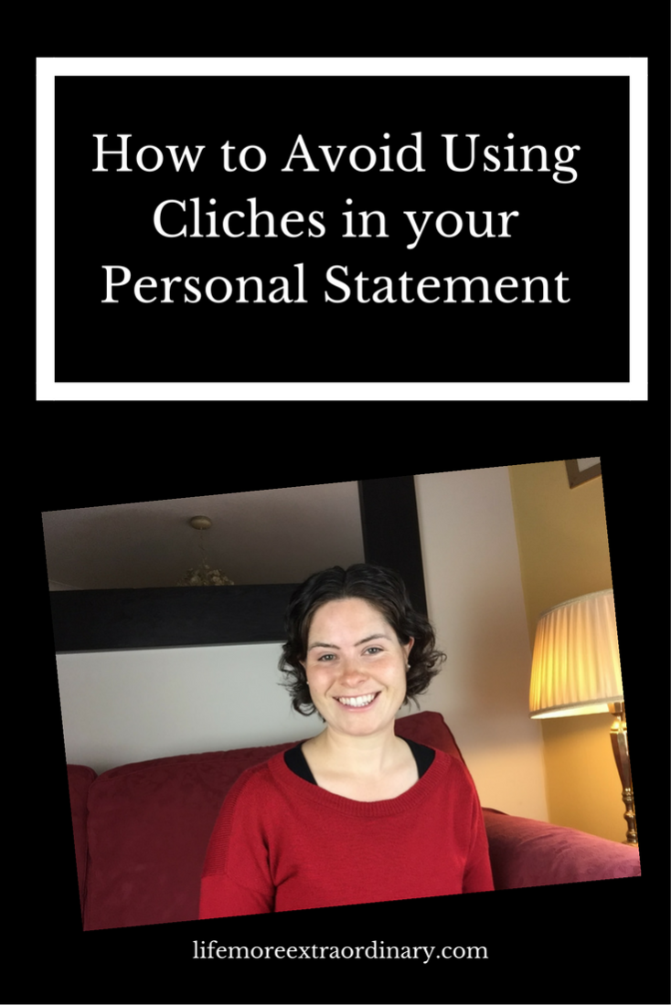 ucas personal statement cliches