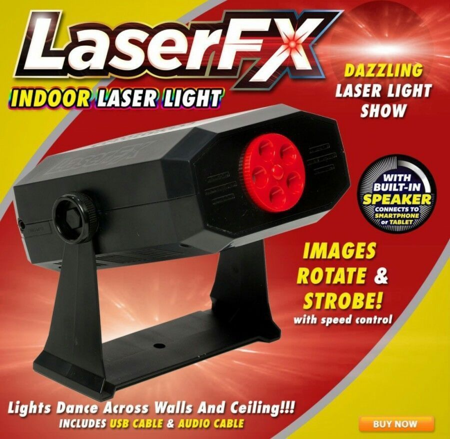 LaserFX Indoor Halloween Christmas Laser Light Show