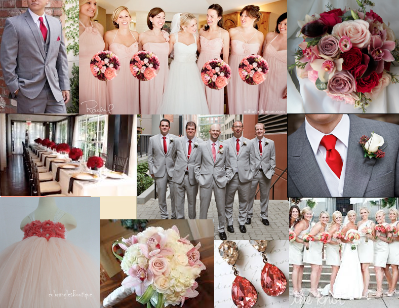 red-gray-blush-champagne.png (788×608) | MY WEDDING | Pinterest ...