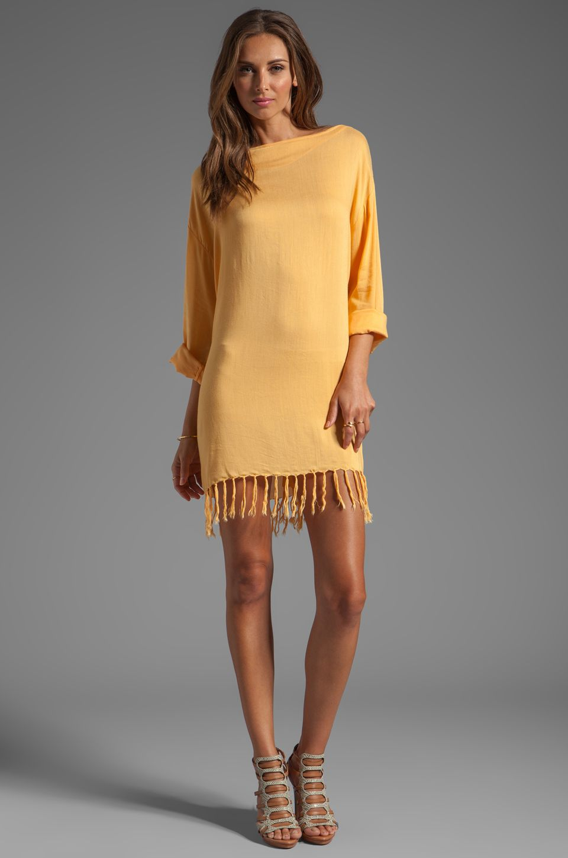 Indah Bridgette Long Sleeve Shift Mini Dress In Gold Mini Shift Dress Mini Dress Dresses [ 1450 x 960 Pixel ]