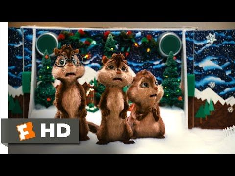 Alvin And The Chipmunks 3 5 Movie Clip Christmas Don T Be Late