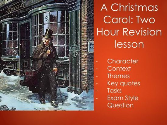 Christmas Carol - Full Revision PowerPoint (Several Lessons) | Christmas carol, This or that ...