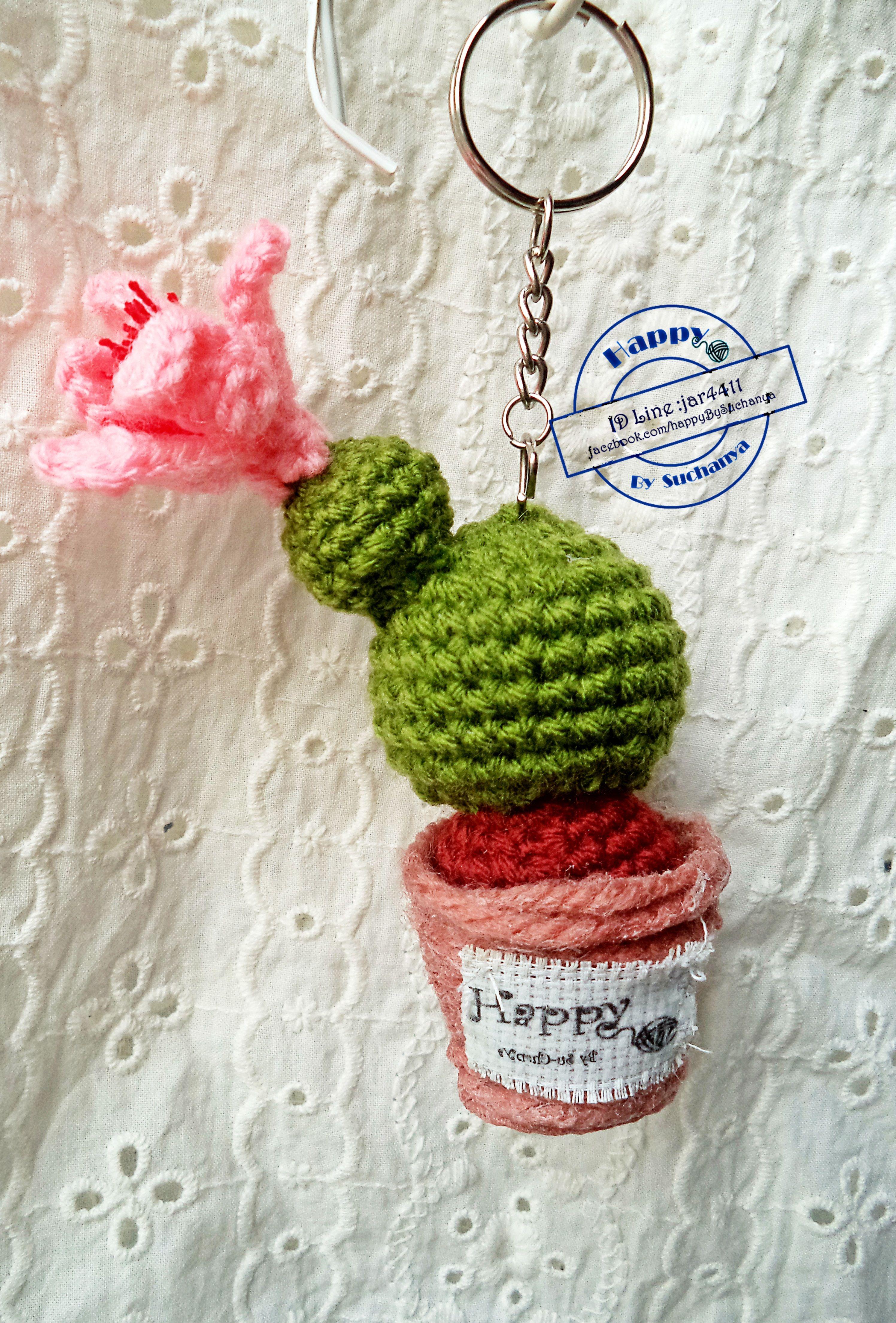 Pin de Patricia en crochet   Pinterest   Llaveros, Tejido y Cactus