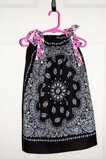 Cute dress idea for a little girl