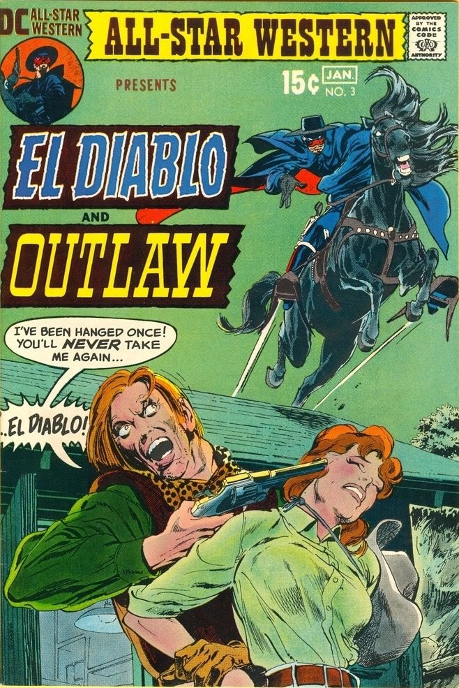 All-Star Western Vol 2 #3 (1971). Cover art: The marvelous Neal Adams