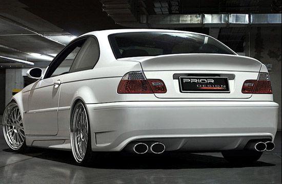 prior design 3 series rear end | car | pinterest | bmw, e46 m3 and