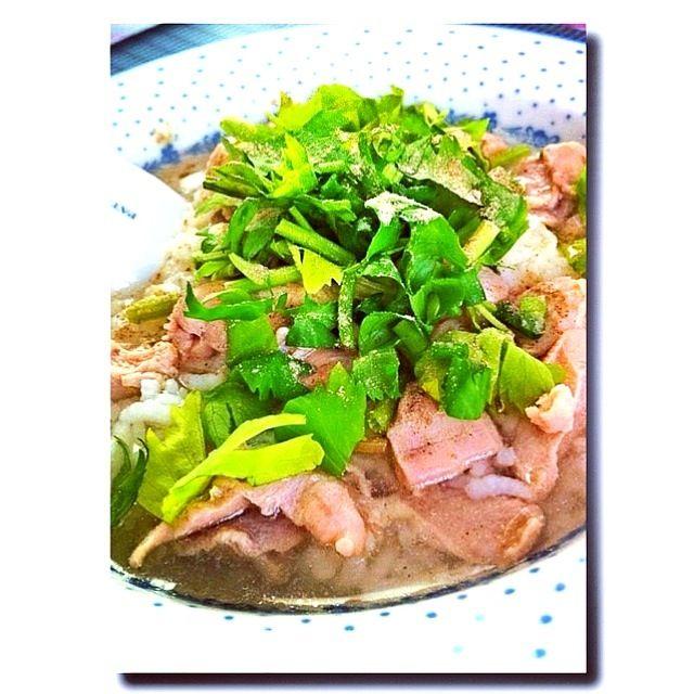 レシピとお料理がひらめくSnapDish - 42件のもぐもぐ - rice porridge with chicken by MoONaaE'