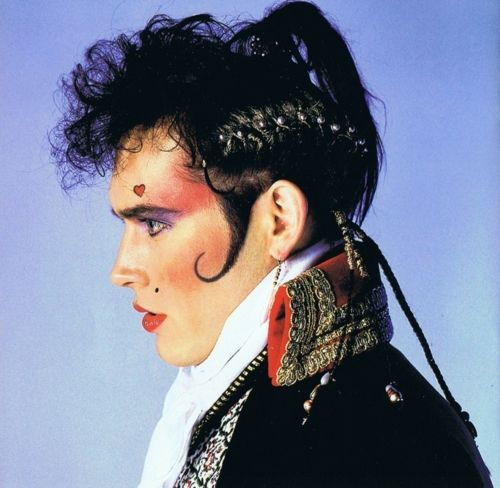 Image result for adam ant images make up