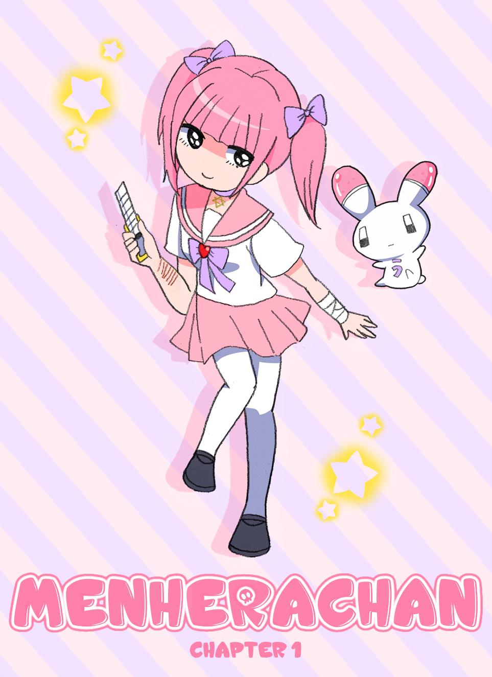 Menhera Chan Cute Art Cute Anime Character Kawaii Anime