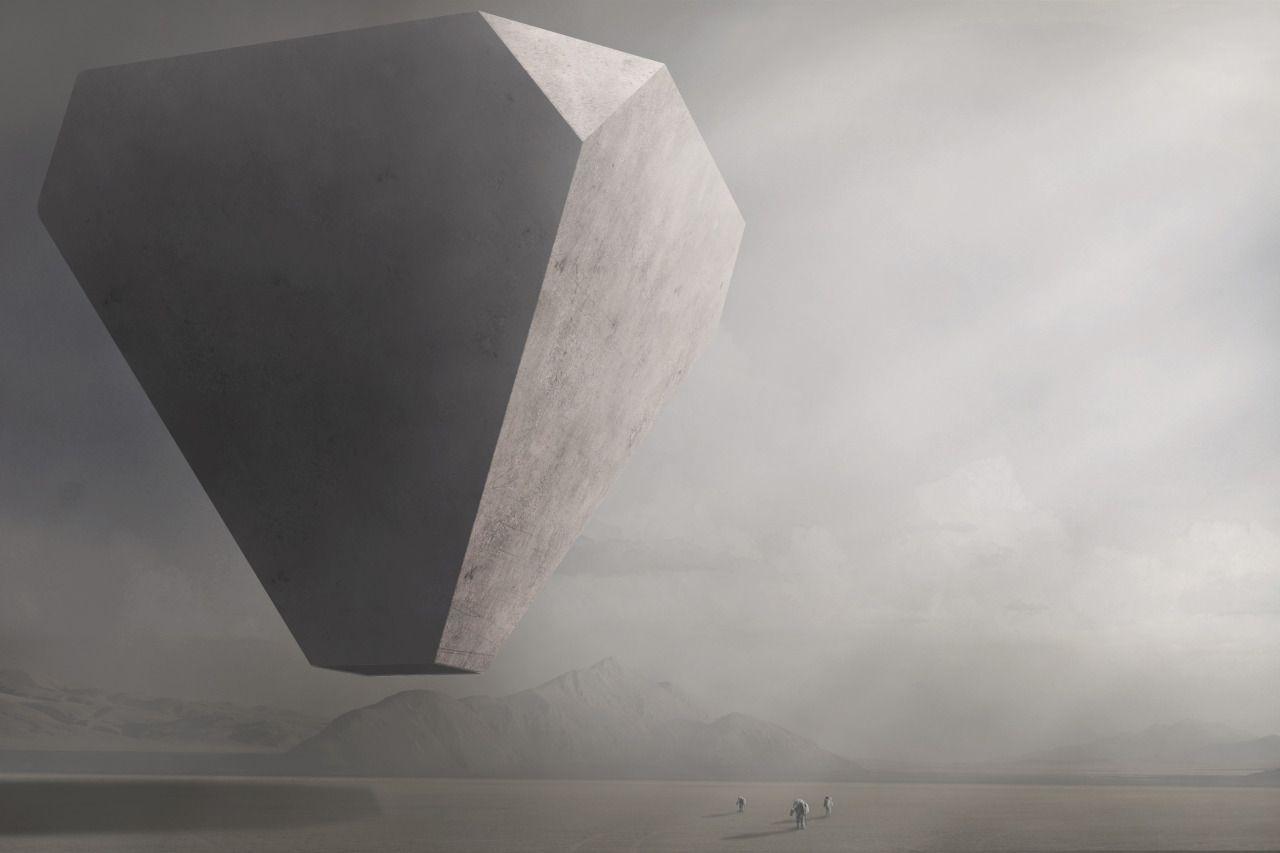 Cosmic digital drawings by Nicholas Stathopoulos