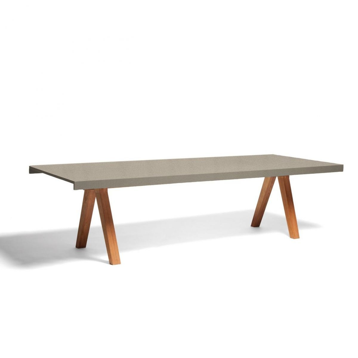 Vieques Dining Table teak 270x101cm | Kettal | Garden tables ...