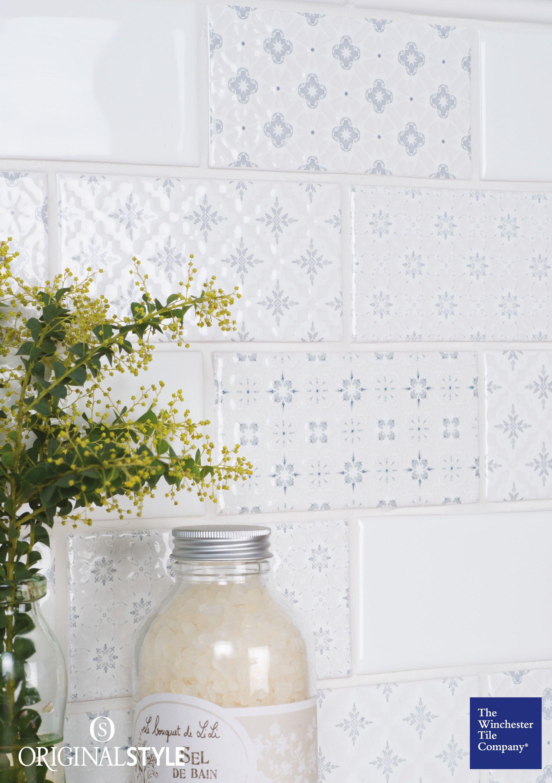 Garden Decorative Tiles Rosemoor On Helmingham Ceramic Tile  English Countryside