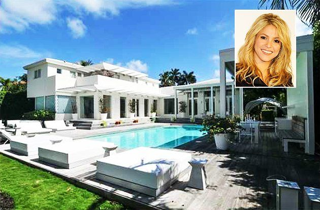 """Shakira's Miami mansion is up for sale and according to the listing she completely remodeled to create a """"Zen sanctuary."""" Check out what almost $15M worth of zen looks like. Re-pin now, check later"""