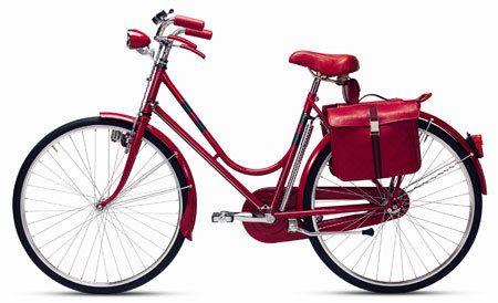 Beautiful red bike