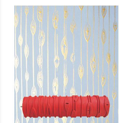 Patterned Paint Roller For The Pantry Walls