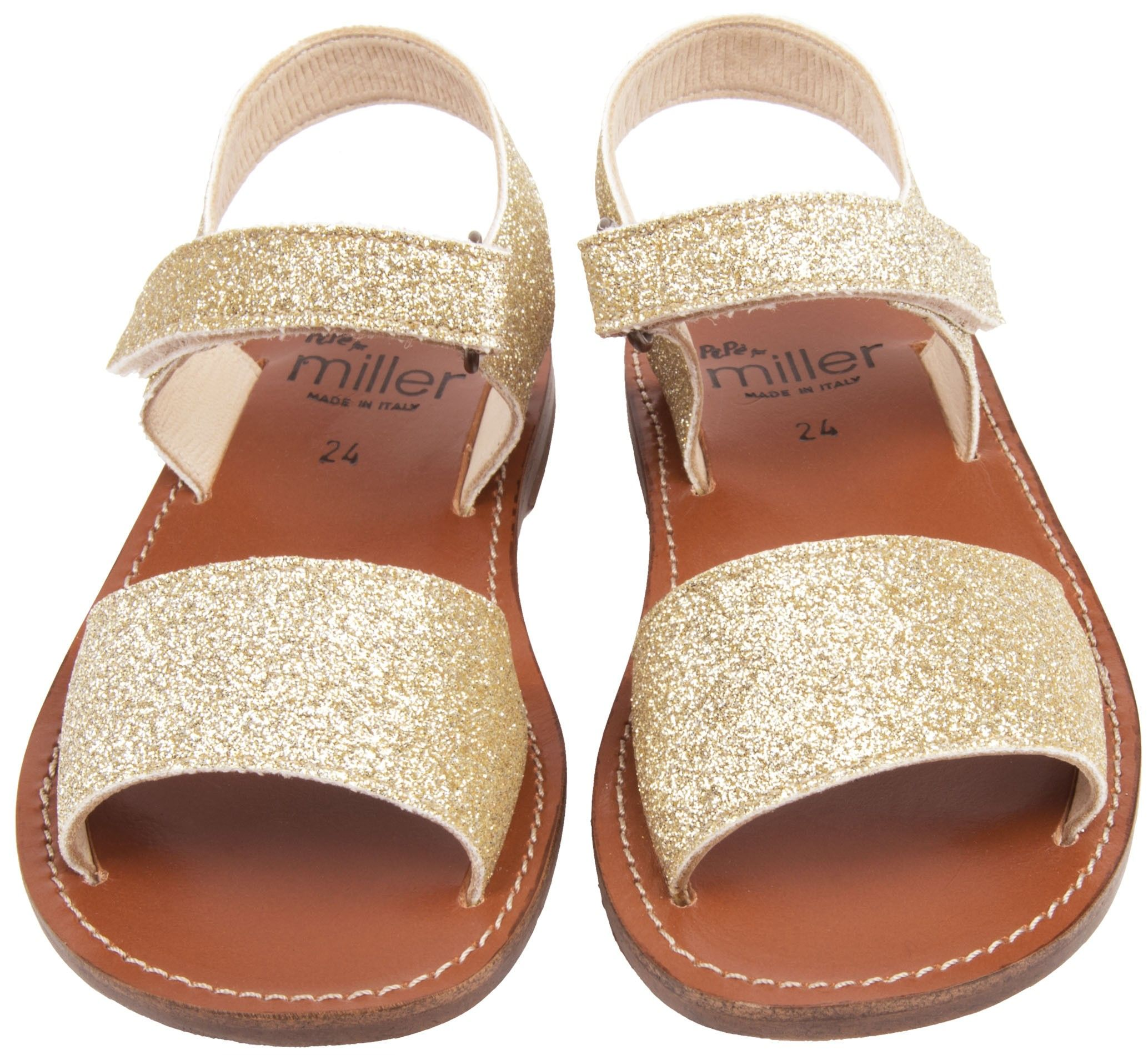 8ee830df781b SALE NOW ON  Shop The Miller Girls Scilla Sandals In Gold with 50% OFF.  Browse The Cutest Designer Kids Shoes