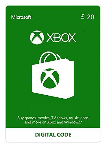 Xbox Live £20 Credit Xbox Live Download Code xbox360
