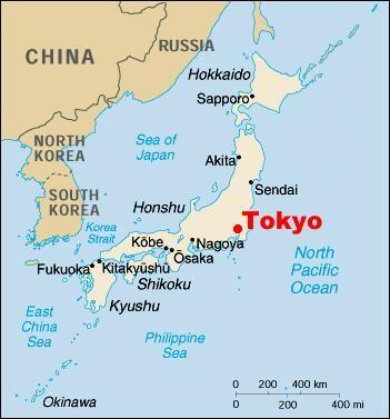 tokyo in japan map Tokyo On Japan Map Japan Tourism Misawa Japan Map