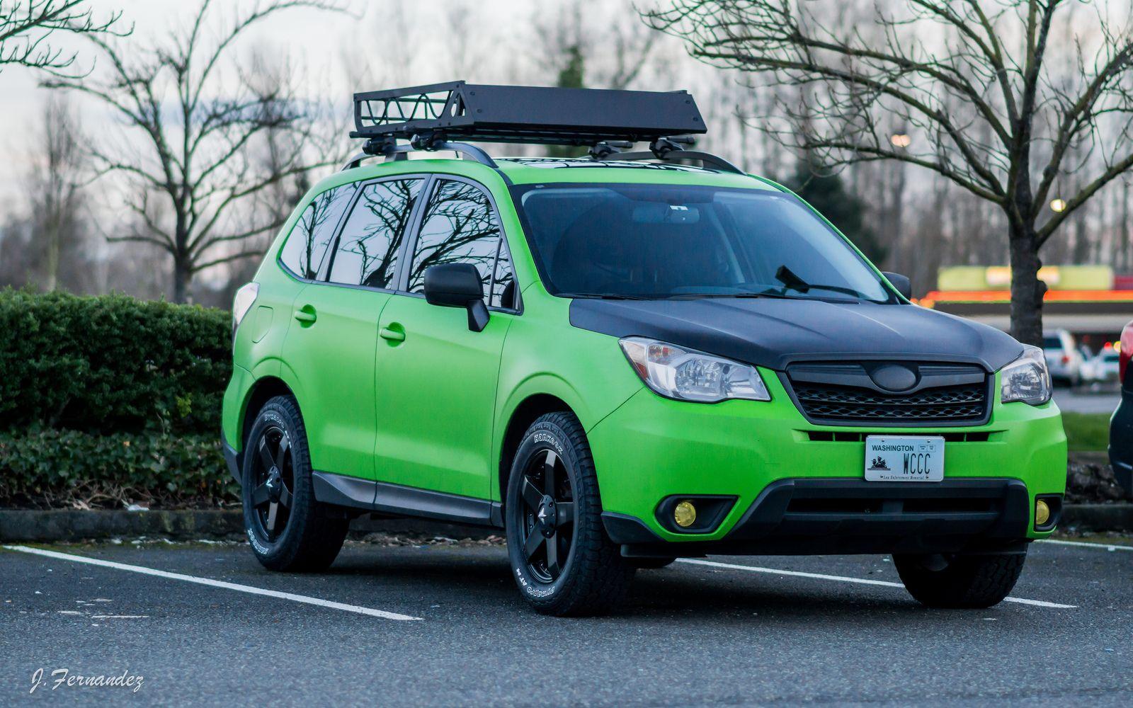 Bogeycentral S Green Machine Build Subaru Forester Subaru Aluminum Roof
