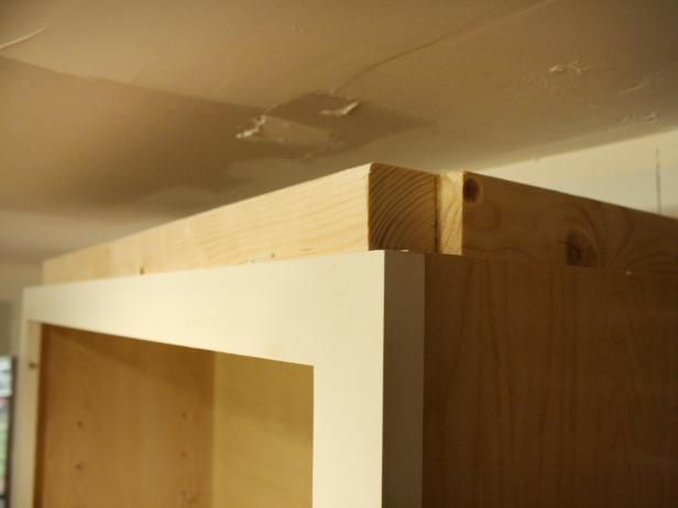 How To Install Cabinet Crown Molding Fix The Kichen