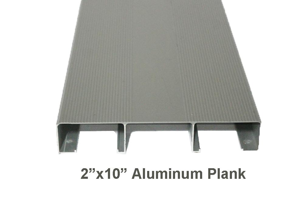 2 X 10 X 15 Mill Finish Aluminum Plank P21015ml Aluminum Planks Aluminum Decking Extruded Aluminum