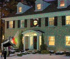 2848d4d5408 Decora de Navidad la fachada de tu casa. Este proyector Láser