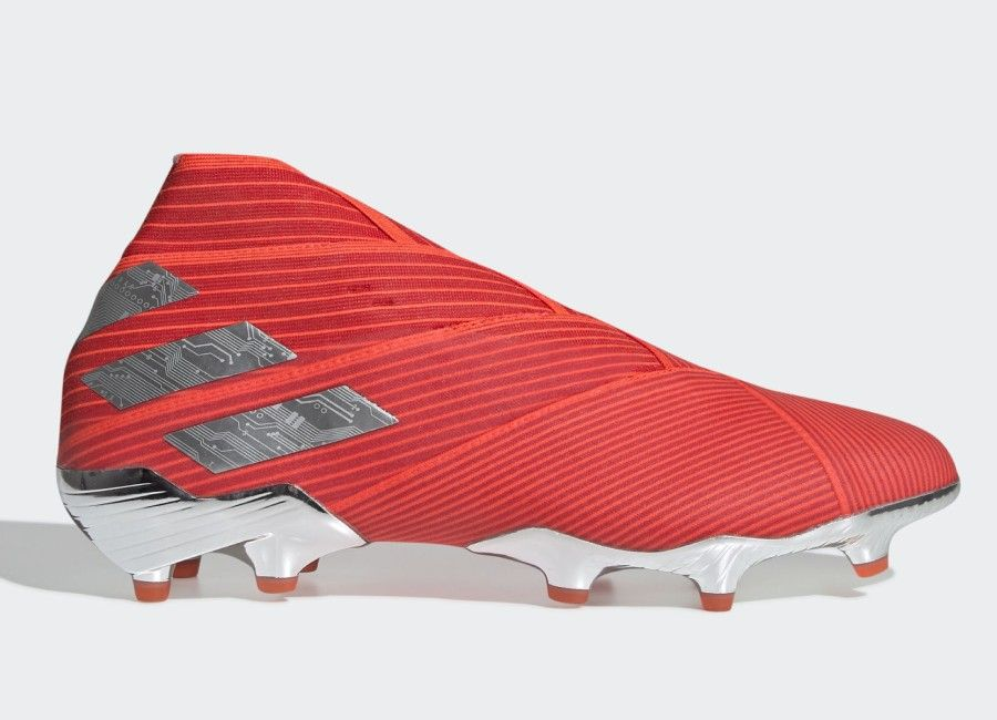 Adidas Nemeziz 19 Fg 302 Redirect Active Red Silver Met Solar Red Adidasfootball Footballboots Football Boots Soccer Boots Adidas Football
