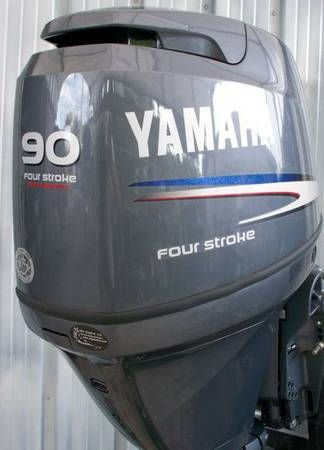 Free Shipping For Used Yamaha 250 HP 4-Stroke Outboard Motor#used
